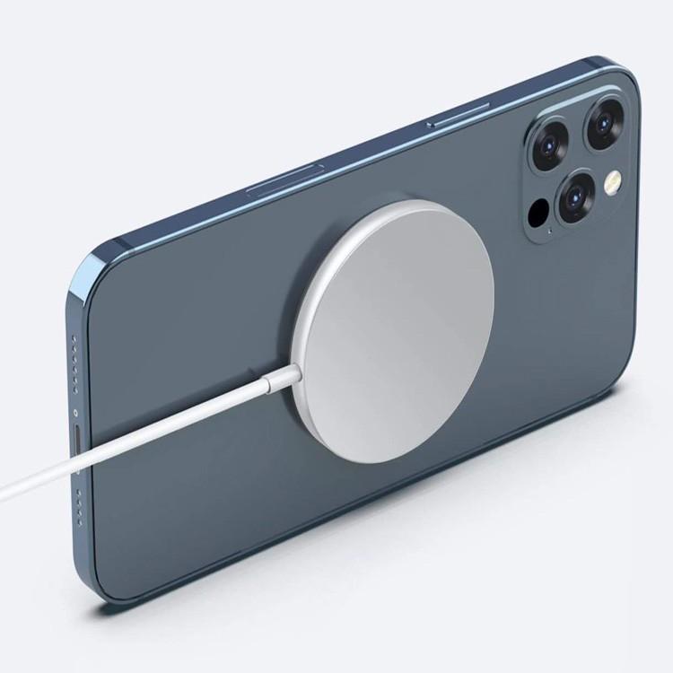 Đế Sạc Nam Châm Không Dây 10w Cho Iphone 12 Mini Pro Max