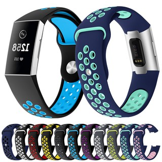 Dây Cao Su Nike Sport Cho Fitbit Charge 3
