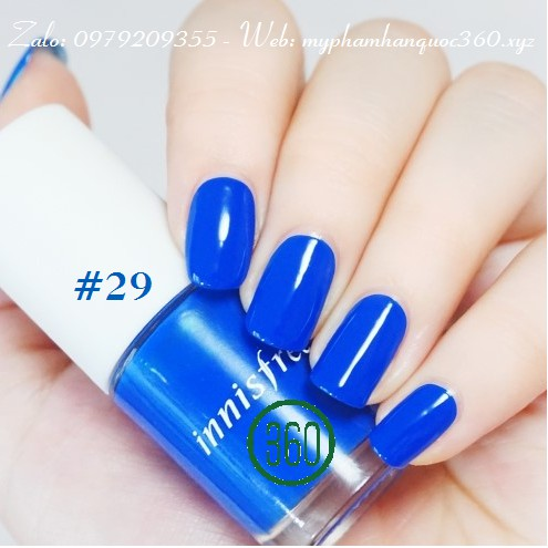 Sơn Móng Tay – Innisfree Real Color Nail màu số 29