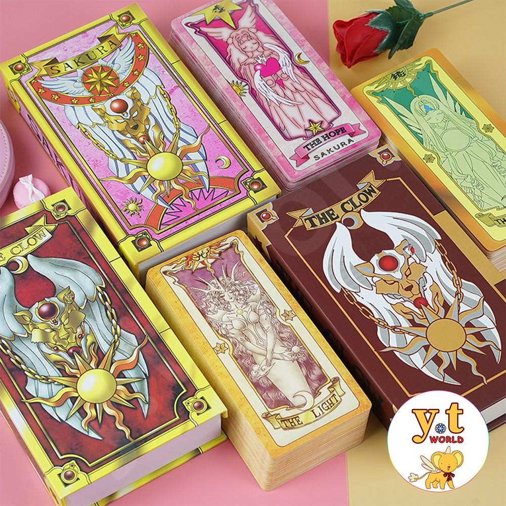 Bộ bài Clow – Sakura (hộp sách)