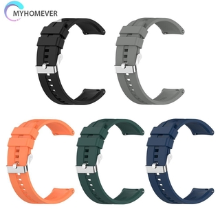 Dây Đeo Silicon Cho Đồng Hồ Thông Minh Huawei Gt 2 42mm Samsung Galaxy Watch 3 41mm