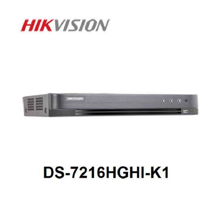 Đầu ghi hình 16 kênh HIKVISION DS-7216HGHI-K1(S) HD1080P LITE H.265 Pro+ (THẾ HỆ TURBO 4.0)