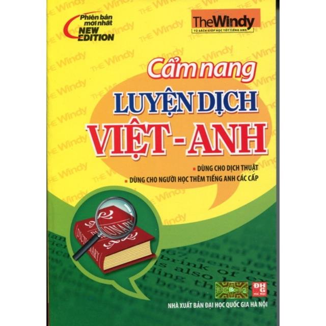 [sách] Cẩm Nang Luyện Dịch Việt - Anh