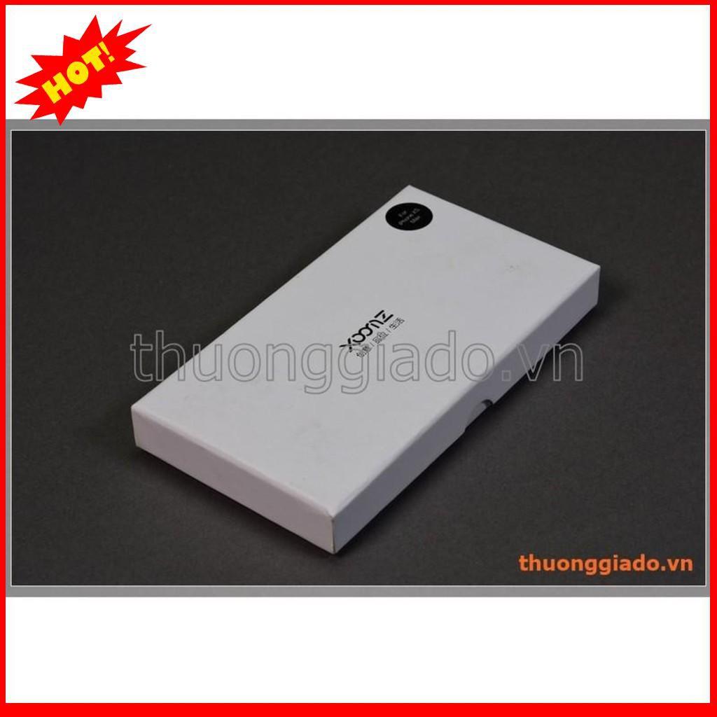 Bao da cầm tay iPhone Xs Max (6.5″), hiệu Xoomz (da bò thật) – BẮC TỪ LIÊM