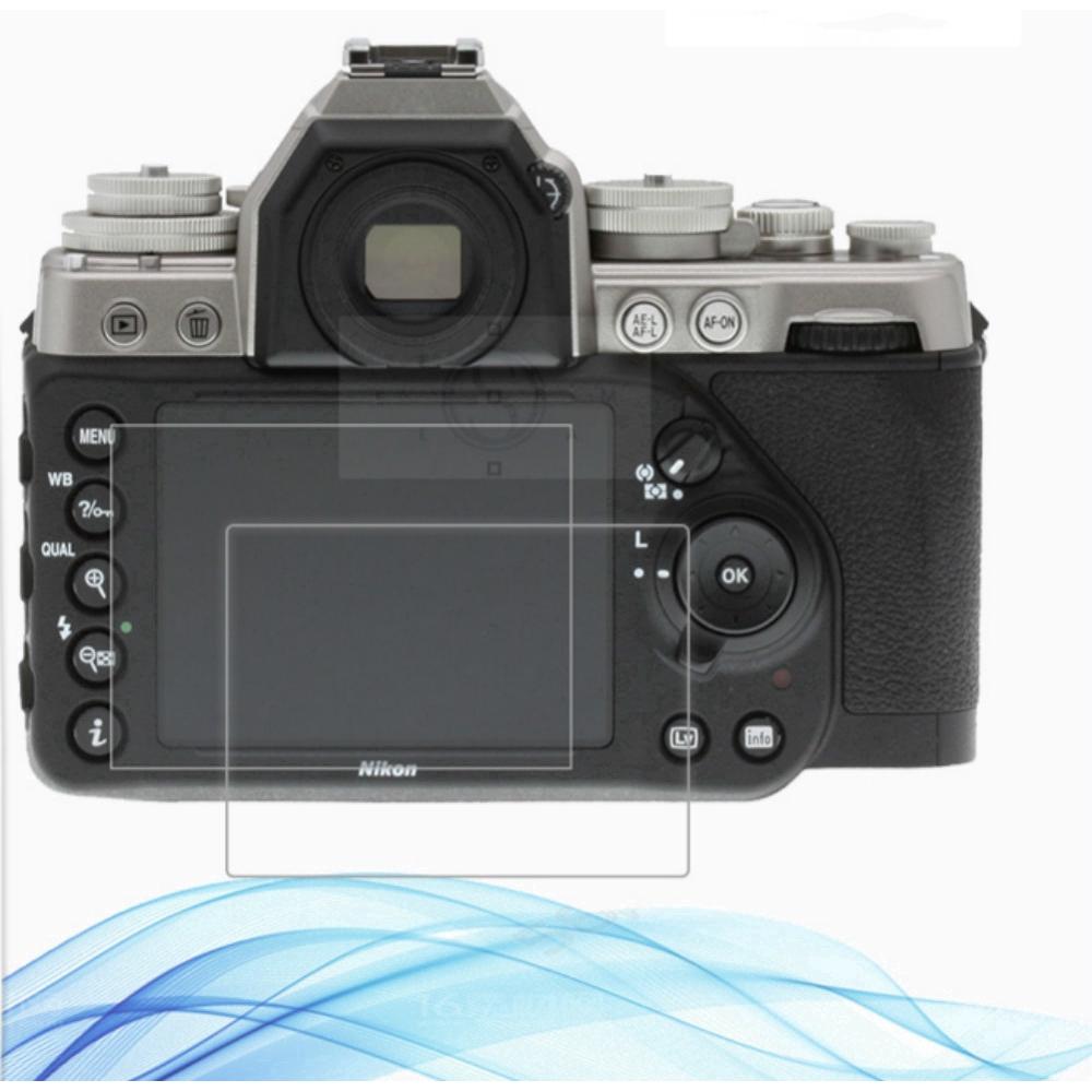 2PCS Anti-Scratch Film for Nikon D7100 D7200 D600 D610 2.5D 9H Clear Tempered Glass Screen Protector