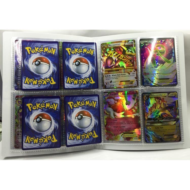 Solid Card Album Comic Game Card Collect Book General Purpose Collection Card Cartoon Card Holder For Cartas Pokemon