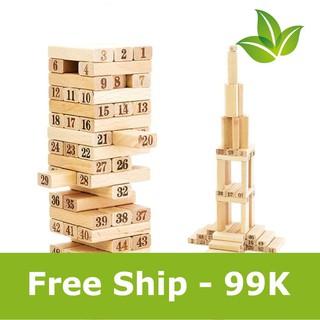 [Giá tốt] Bộ đồ chơi rút gỗ Wiss Toy hỗ trợ ship