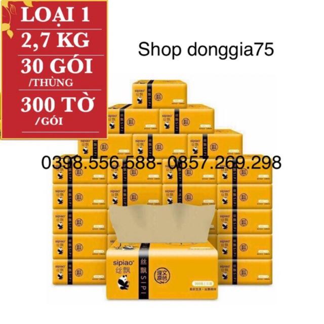 Thùng 30 gói giấy ăn SIPIAO (shop donggia75)