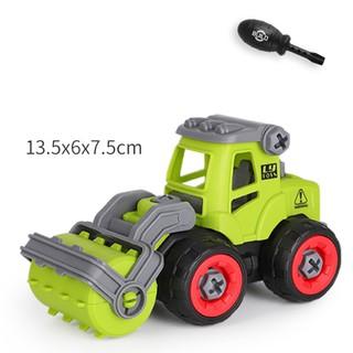 Xe đồ chơi mô hình ô tô tháo lắp dễ dàng hiệu Híp s Toys MODEL 996E bằng nhựa 2