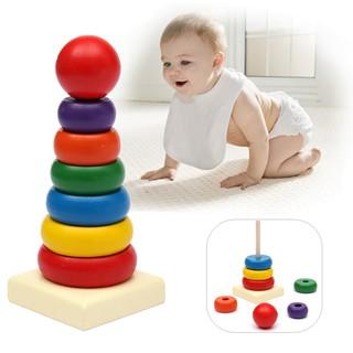 ĐHS1938 – Bộ đồ chơi rainbow tower cho bé
