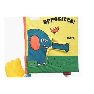 Sách vải Opposites – Sự đối lập, tương phản.