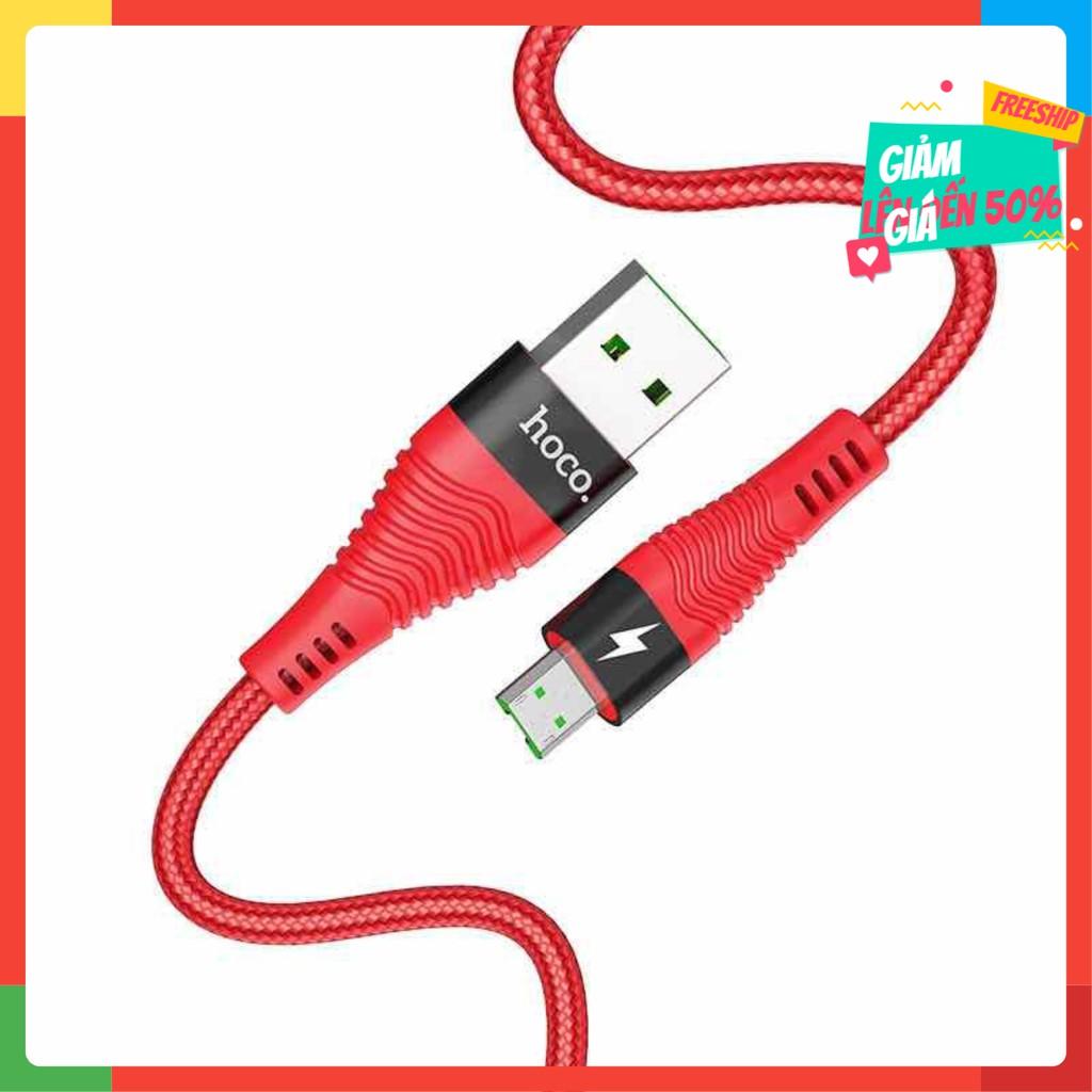 [Siêu Hot] Cáp Sạc Nhanh Hoco 4A Micro USB Chính Hãng dành cho Android