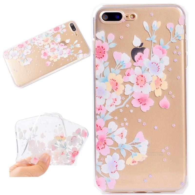 Ốp lưng nhựa mềm siêu mỏng cho iPhone 5 5G 5S SE 6 6S Plus 7 8 Plus