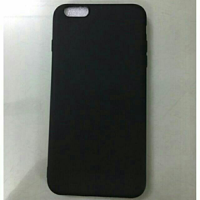 Ốp lưng dẻo silicon IPhone 6 plus / 6S plus - Đen