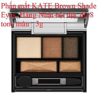 Phấn mắt KATE Brown Shade Eyes 3g với 5 gam màu của Kanebo Nhật bản nội địa thumbnail
