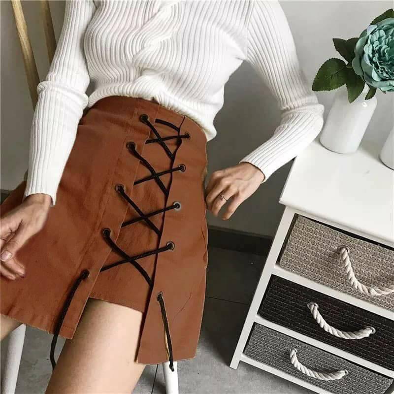 [GIÁ HUỶ DIỆT] Chân váy ulzzang girl kaki có lót trong, chân váy chữ A, chân váy xoè, chân váy...
