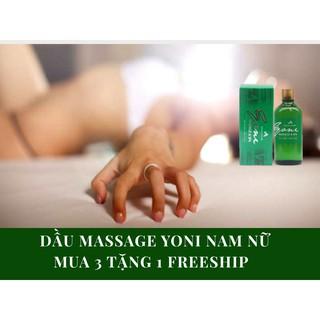 Dầu massage Yoni khoái cảm Nam Nữ thumbnail