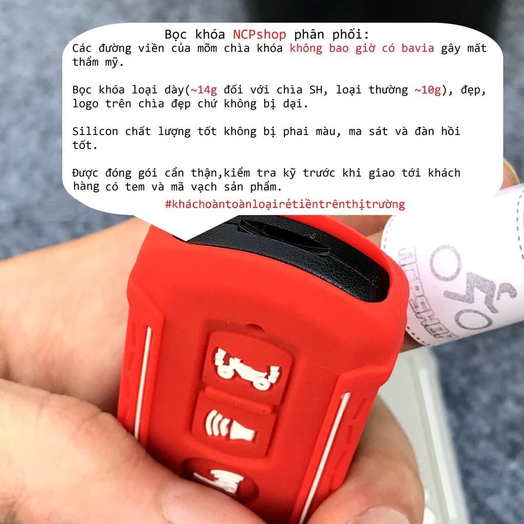 Bọc khóa smartkey Sh,PCX, SHmode mode kiểu mới