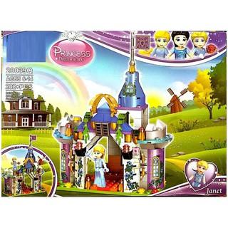 Lắp ráp Princess 20039Q – Lâu đài công chúa Janet