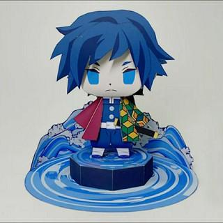 Mô hình giấy anime Tomioka Giyuu Hơi Thở của Nước-Thức thứ mười một Lặng (Nagi) [Demon slayer Kimetsu no Yaiba] thumbnail
