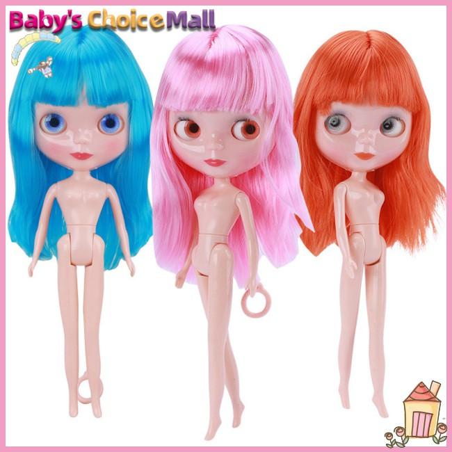 Can Change Eyeball Gift 31cm Height for Kids Doll Girl Plastic Big Figure Eyes Model Toy