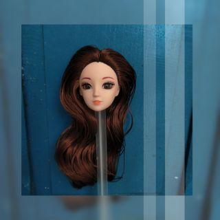 Sale đầu búp bê kexin tóc nâu
