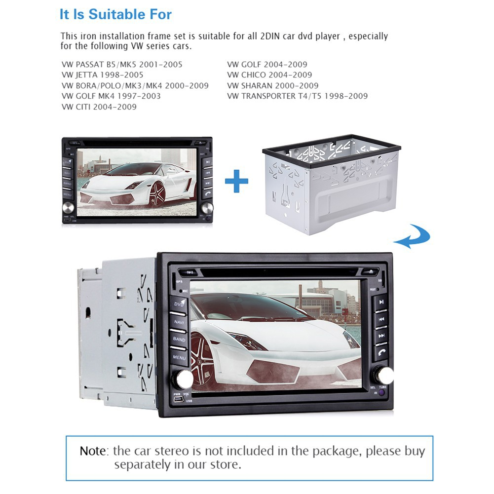 Android car media DVD MP5 Android player wireless installation car panel