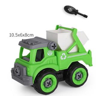 Xe đồ chơi mô hình ô tô tháo lắp dễ dàng hiệu Híp s Toys MODEL 996D bằng nhựa 3