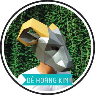 Mặt nạ đồ chơi mô hình Dê Hoàng Kim FOXY thumbnail