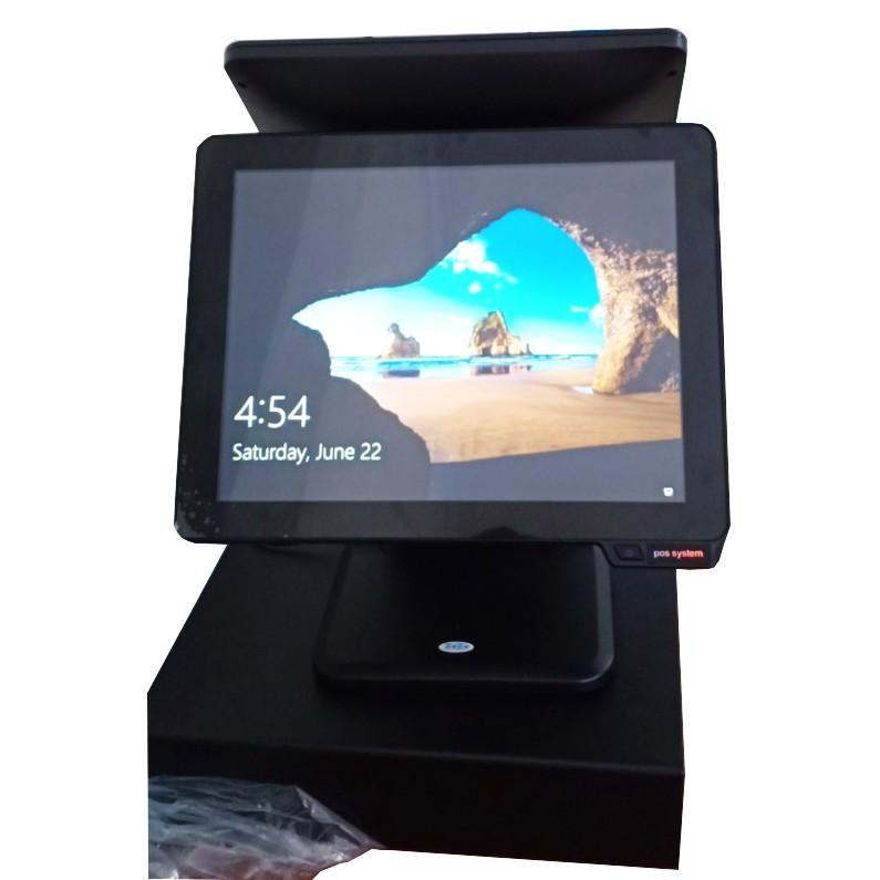 [HÀNG CHẤT]Máy bán hàng cảm ứng POS Machine 2 màn cao cấp Z9800i | SaleOff247