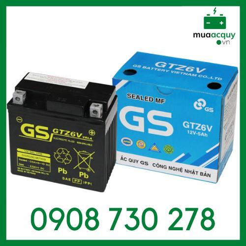 Ắc quy GS GTZ6V