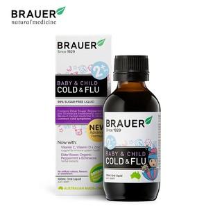 Brauer Baby Child Cold and Flu Trị Ho và Cảm Cúm 100ml