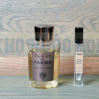 Nước hoa dùng thử Acqua Di Parma Colonia Intensa