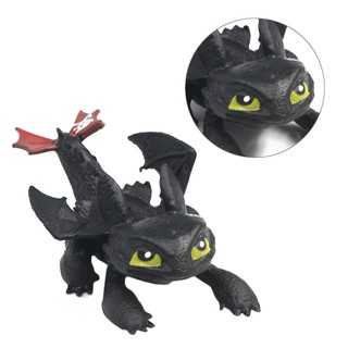 8PCS How to Train Your Dragon Action Figures Set: Toothless Night Fury Nadder