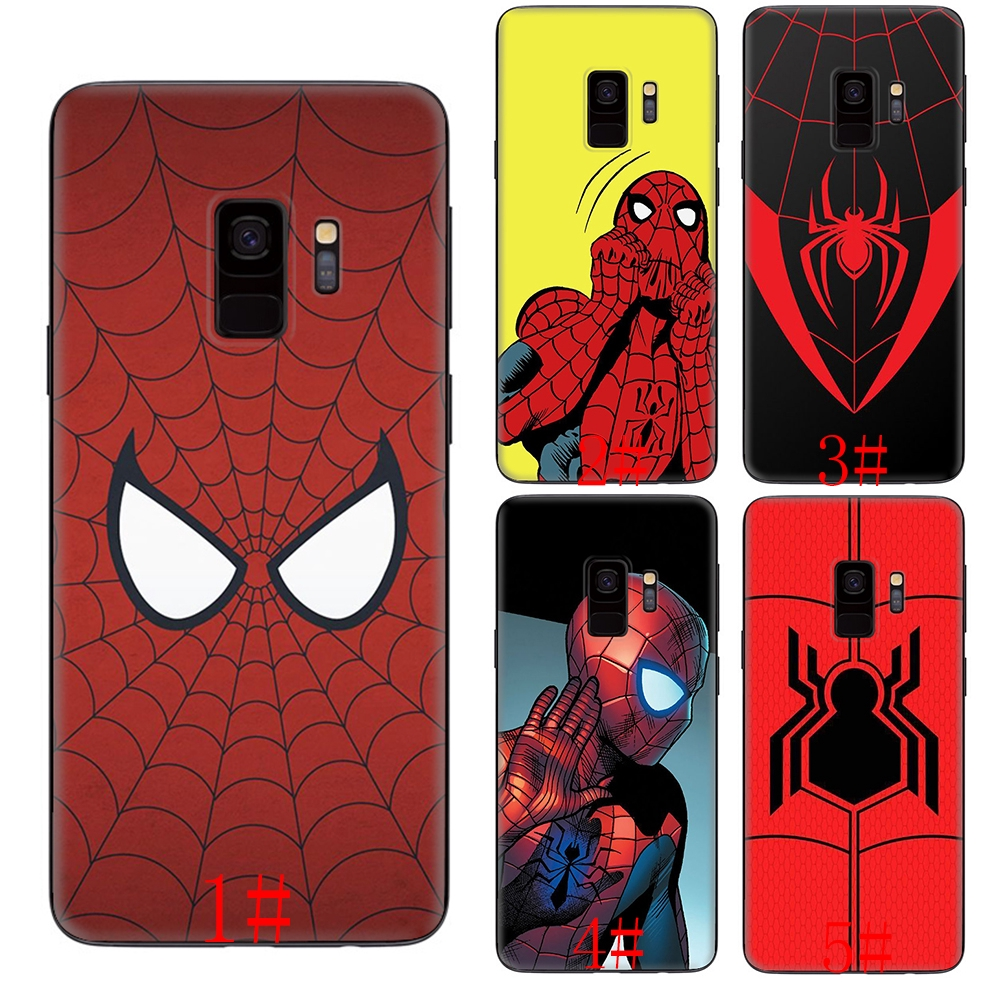 Marvel SpiderMan Samsung S6 S7 S8 S9 S10 Edge Plus soft silicone case