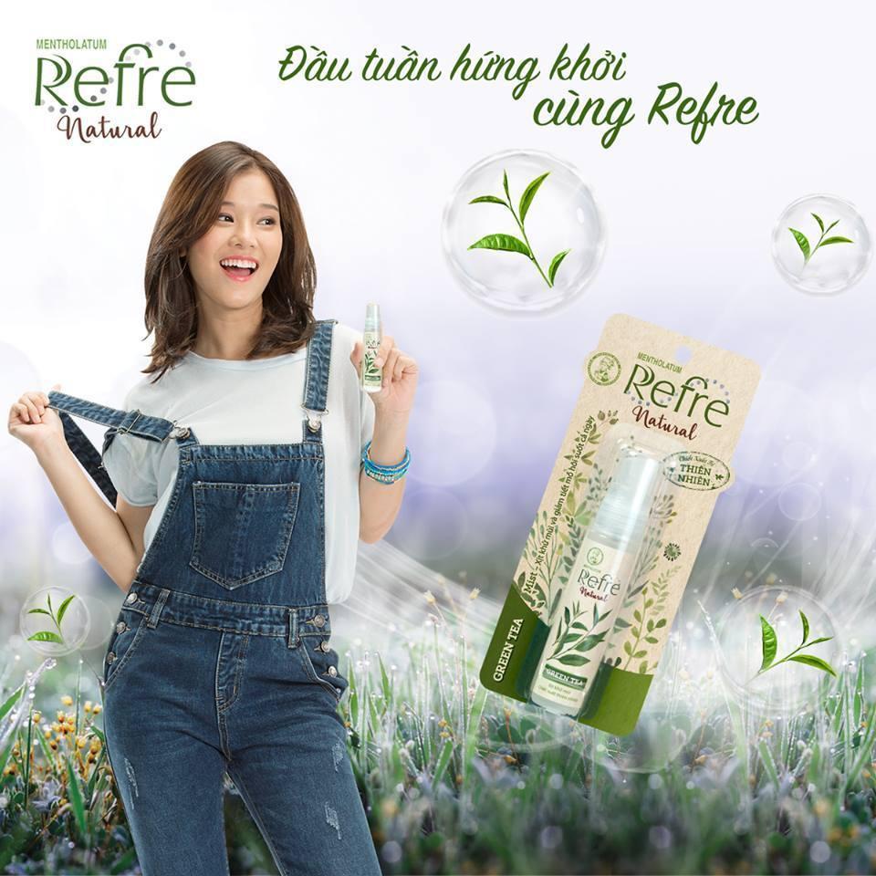 Combo 2 chai Xịt khử mùi Refre Natural Green Tea (Hương trà xanh) 30ml |  Shopee Việt Nam