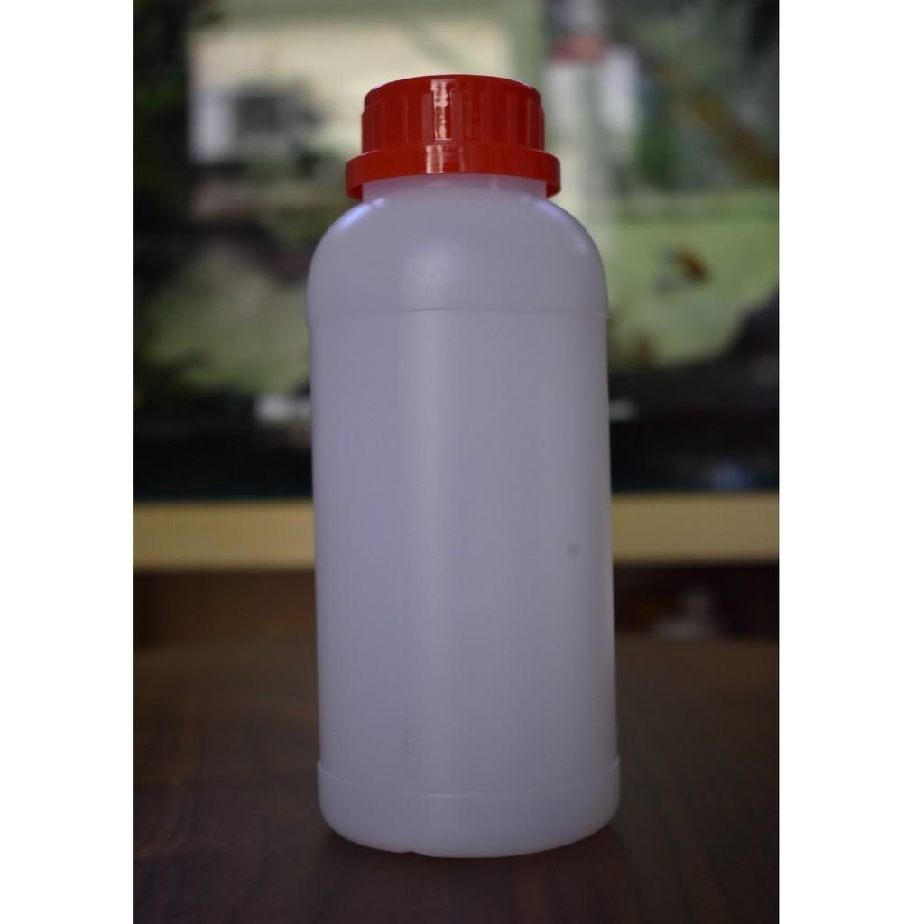 Chai Nhựa HDPE Trắng Nắp Vặn 500ml 1000ml Loại dày