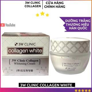 [HÀNG CHÍNH HÃNG] Kem Sữa Dưỡng Trắng Da 3W Clinic Collagen White Xách Tay Chính Hãng Hàn Quốc