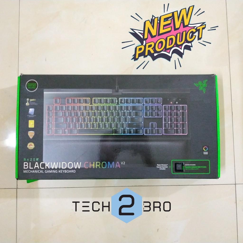Razer Blackwidow Chroma v2 Green Switch - Bán phím chuyên game pubg đỉnh cao hơn cả Fuhlen M87S 2nd