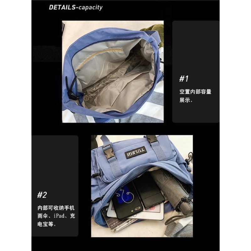 Túi vải TULEQI B49