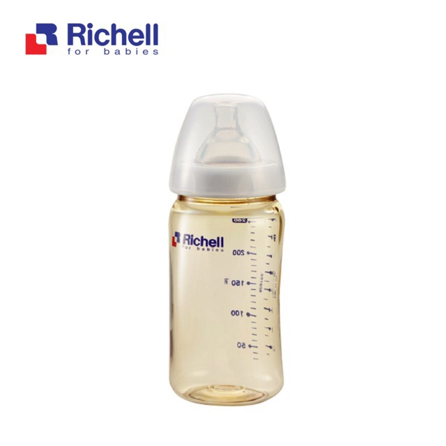 Bình sữa PPSU Richell cao cấp an toàn