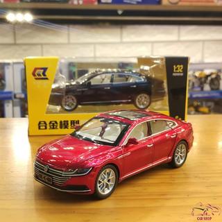 Mô hình trưng bày xe ô tô Volkswagen CC 2019 tỉ lệ 1/32 màu đỏ