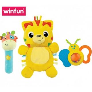 Set 3 đồ chơi cầm tay xúc xắc chíp chíp - gặm nướu hổ gặm nướu sột soạt Winfun 3027 thumbnail