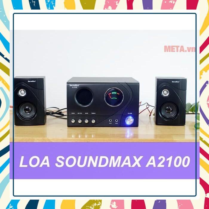 (Có hàng nhiều) Sản phẩm Loa Vi Tính SoundMax A-2100 2.1 60W Giá chỉ 1.272.700₫