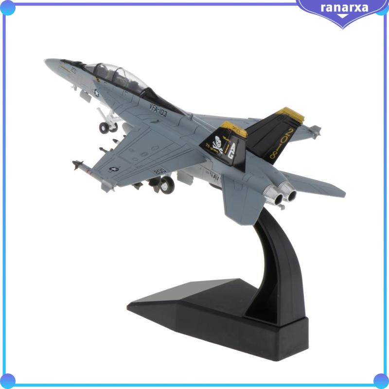 1/100 F/A-18 Strike Fighter American Plane Diecast Aircraft Model