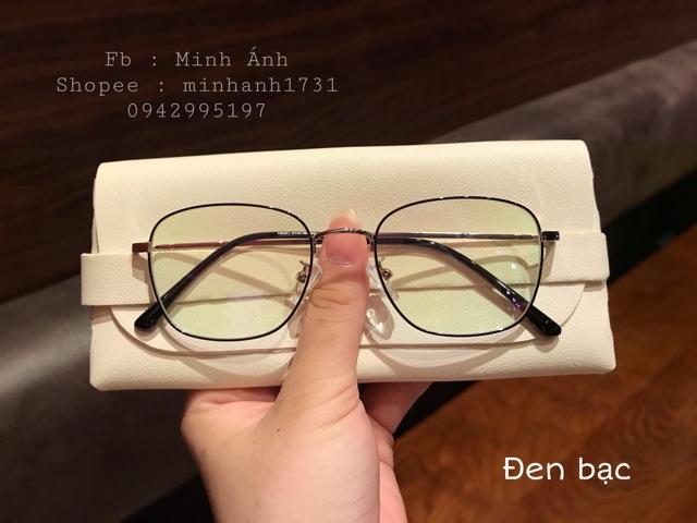 Gọng kính kim loại vuông 18061