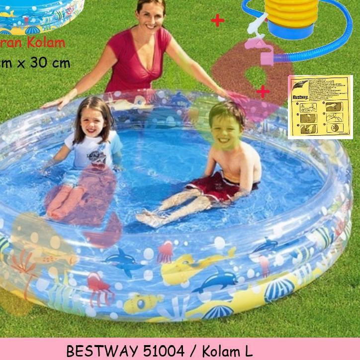 Bestway Hồ Bơi Hình San Hô Dễ Thương Cho Bé 51008 51009 51004
