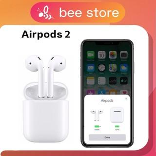[Top 1 Bán Chạy] Tai nghe Bluetooth AIRPODS 2 ĐỔI TÊN, POPUP, TẶNG BAO SILICON 🎧