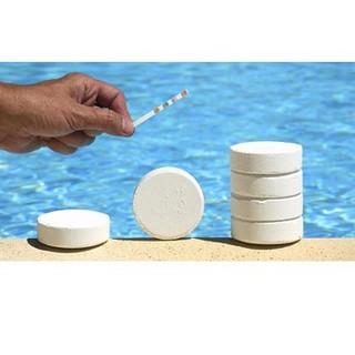Clo viên 200 gram làm sạch nước,ức chế rêu tảo bể bơi ,ao hồ