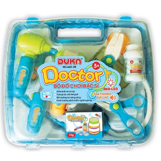 Bộ đồ chơi bác sĩ có đèn Duka No.660-08